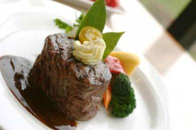 Beef Tenderloin with Red Wine Balsamic Reduction