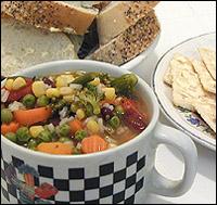 Amanda's All Vegetable Soup