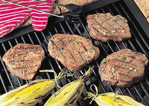 Grilled Lime Cilantro Chuck Steaks