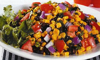 Holly Clegg's Black Bean, Corn and Fresh Tomato Salad