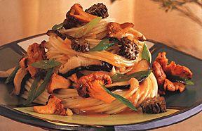 Cantonese Wild Mushroom Pasta