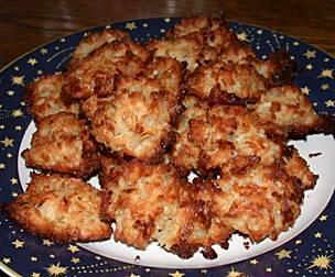 Flourless Coconut Macaroons