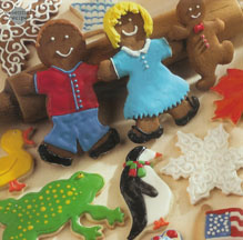 Decorator's Dream Light Spice Cookies