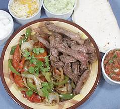 Beef, Chicken or Shrimp Fajitas