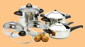 Pressure Cooker Navy Bean Soup