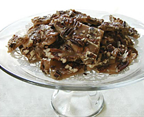 Sugar Free, Low Carb Butter Pecan Brittle