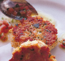 Rick Stein's Maryland Crab Cakes with Tarragon and Butter Sauce