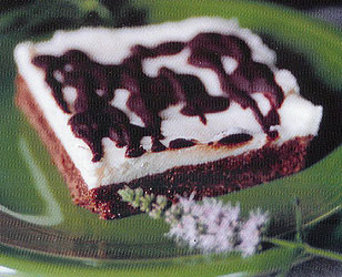 Mint Buttercream Brownies
