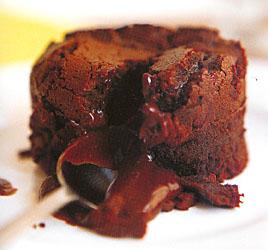 Gluten Free Molten Chocolate Cakes