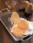 Lacy Parmesan crisps