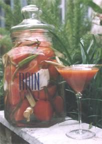 Rain Vodka Bloodytini Infusion