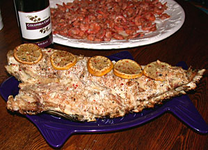 Greg garvey 39 s grilled redfish recipe for Red fish recipe