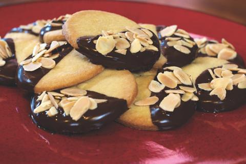 Almond shortbread cookie recipe