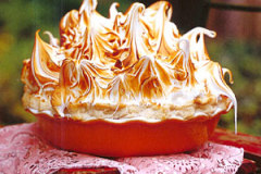 Caramel Pie with Meringue Topping