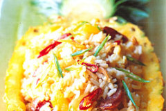 Martin Yan's Pineapple Thai Fried Rice