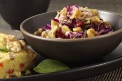 Marion Cunningham's Cranberry and Walnut Coleslaw