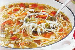 Nava Atlas' Vegan Mock Chicken Soup