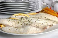 Poached Tilapia and Vegetables