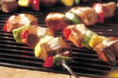 Ranch Style Sirloin and Vegetable Kebabs