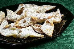 Chrusciki -- Polish Angel Wings Cookies