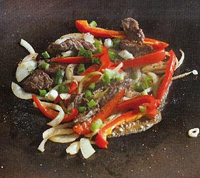 Southwestern Beef Stir Fry
