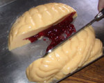 Melba's Bleeding Brain Halloween Gelatin Mold Recipe