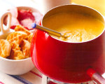 Cheesy Maple Brunch Fondue