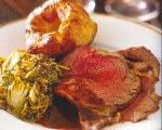 Rosemary Rib Roast with Yorkshire Pudding