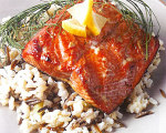 Alder Grilled Marinated Wild Salmon
