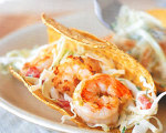 Williams-Sonoma Shrimp Tacos with Lime Slaw