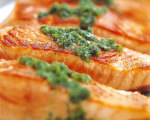 Williams-Sonoma's Seared Salmon with Basil