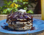 Chocolate Chip Pecan Pancakes