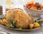 Weight Watchers' Grilled Whole Chicken with Garlic and Herbs