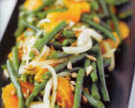 Chinese Long Bean Salad with Tangerine and Sherry-Mustard Vinaigrette