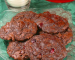 Cranberry Fudge Cookies