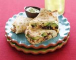 Chipotle chicken & avocado quesadillas