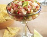 Watermelon, toasted jalapeno & shrimp pico de gallo