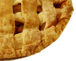 Caramelized apple pie