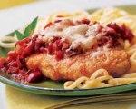 Quick Chicken Parmesan with Angel Hair Pasta