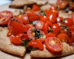 Tomato and Basil Flatbread