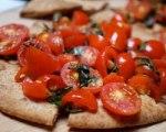 Tomato and Basil Flatbread