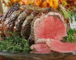 Rosemary horseradish prime rib