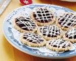 Raspberry Limoncello Linzers