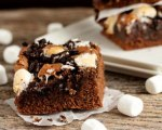 Oreo Brownies with Marshmallows