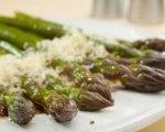 Grilled Herb Parmesan Asparagus