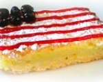 4th of July lemon bar flags