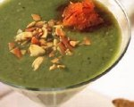 Chilled Avocado, Tomatillo and Cucumber Soup