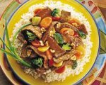 Sesame Soy Beef Stir-Fry