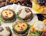 Halloween Hamburgers for Kids