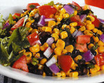 Holly Clegg's Black Bean, Corn and Fresh Tomato Salad